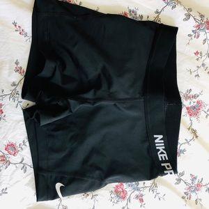 Black Nike Pro Short